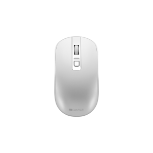 Canyon MW-18 2.4GHz Wireless Rechargeable Mouse with Pixart Sensor - Pearl White