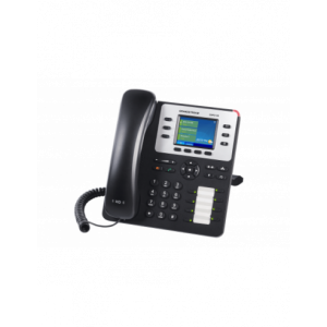 Grandstream 8 Line Desk Phone, PSU not included, Supports POE