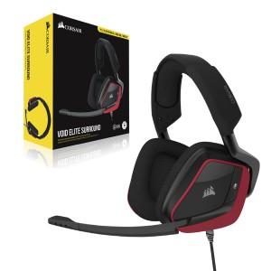 Corsair Void Elite Suround Premium Gaming Headset with 7.1 Surround Sound — Cherry (AP)