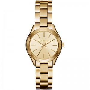 Michael Kors Women's Mini Slim Runway Stainless-Steel Quartz Watch
