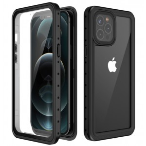 Waterproof Case with Built-in Screen Protector for iPhone 12