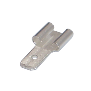 ADAPTOR TERMINAL 6.35-4.75mm (F2 to F1 size changer) - single unit