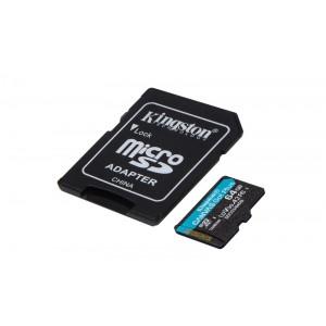 Kingston Technology 64GB Canvas Go! Plus microSD Memory Card