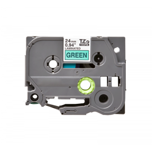 Compatible Brother TZE 751 Black on Green Labelling Tape – 24mm