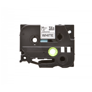 Compatible Brother TZE 261 Black on White Labelling Tape – 36mm
