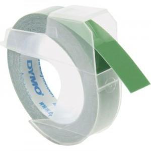 Dymo 9mmx3m Green 3D Embossing Tape
