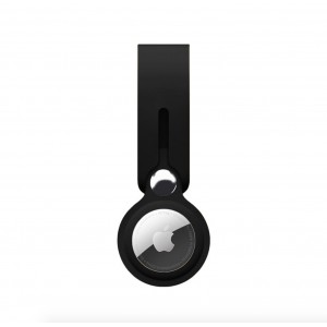 TUFF-LUV Apple Airtag Tracking Locator Protective Case - Black (5055261892173)