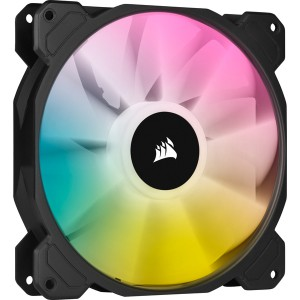 Corsair - iCUE SP140 RGB Elite Performance 140mm PWM Fan - Single Pack