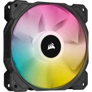 Corsair - iCUE SP120 RGB Elite Performance 120mm PWM Fan - Single Pack