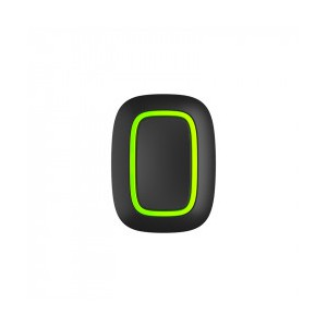 Ajax Button, Black - Wireless Alarm Button/Smart Button