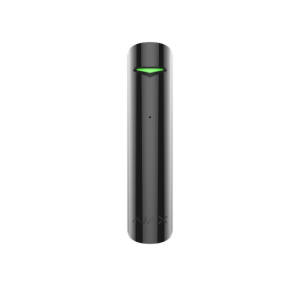 Ajax GlassProtect, Black - Glass Break Detector 9m