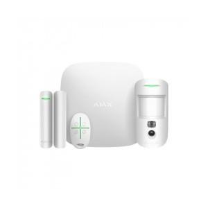 Ajax Starter Kit Hub 2 Plus MotionCam Door Protect and Space Control