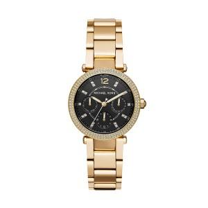 Michael Kors Women's Mini Parker Analog-Quartz Stainless-Steel Watch - Gold