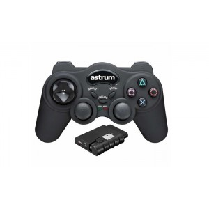 Astrum Wireless Vibration Gaming Joypad for PC / PS2 /PS3