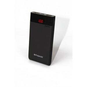 Polaroid 6000mAh External Dual USB Power Pack - Black