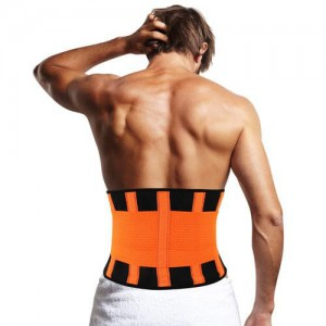 Remedy Health Back Support - Double Compression Waist Wrap (Unisex) - Small