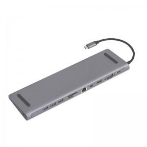 USB Type C To Multi-Function 11-in-1 Docking Station USB Hub