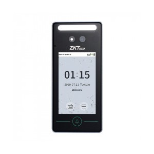 ZKTeco SpeedFace Mini Multi-Biometric Reader - Face Palm and QR Code