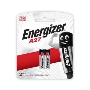 Energizer Miniature Alkaline A27 Battery BP2