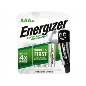 Energizer Recharge Powerplus AAA-4 Pack (700Mah)