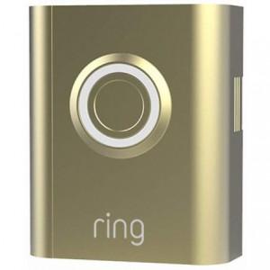 Ring - Video Doorbell 3 Faceplate - Gold Metal