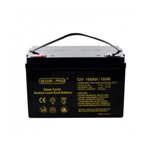Securi-Prod 12V - 100Ah Deep Cycle Battery (328x172x220mm)