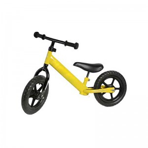 "12"" Kids Balance Bike - Yellow (EVA wheels)"