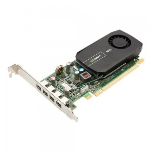 PNY NVIDIA Quadro NVS 510 2GB GDDR3 4-Mini DisplayPort Low Profile PCI-Express Graphics Card