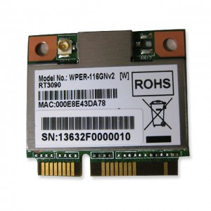 SparkLAN WPER-116GN / 802.11n/b/g / PCI-Express Half-Size MiniCard
