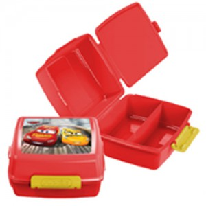 Addis Snacka Stacka Lunch Box - 1.8L - Disney Cars