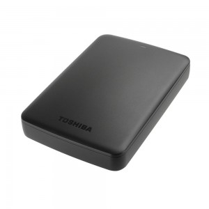 Toshiba HDTB320EK3AA 2TB Canvio Basics USB 3.0 Portable External Hard Drive - Black
