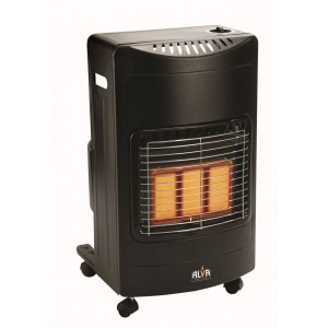 Alva 3 Panel Infrared Gas Heater (Large) - Uses 9kg Gas Cylinder (Cylinder Not Included) Retail Box 1 year warranty