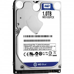"Western Digital Blue 1TB UltraSlim 2.5"" Internal Hard Drive"