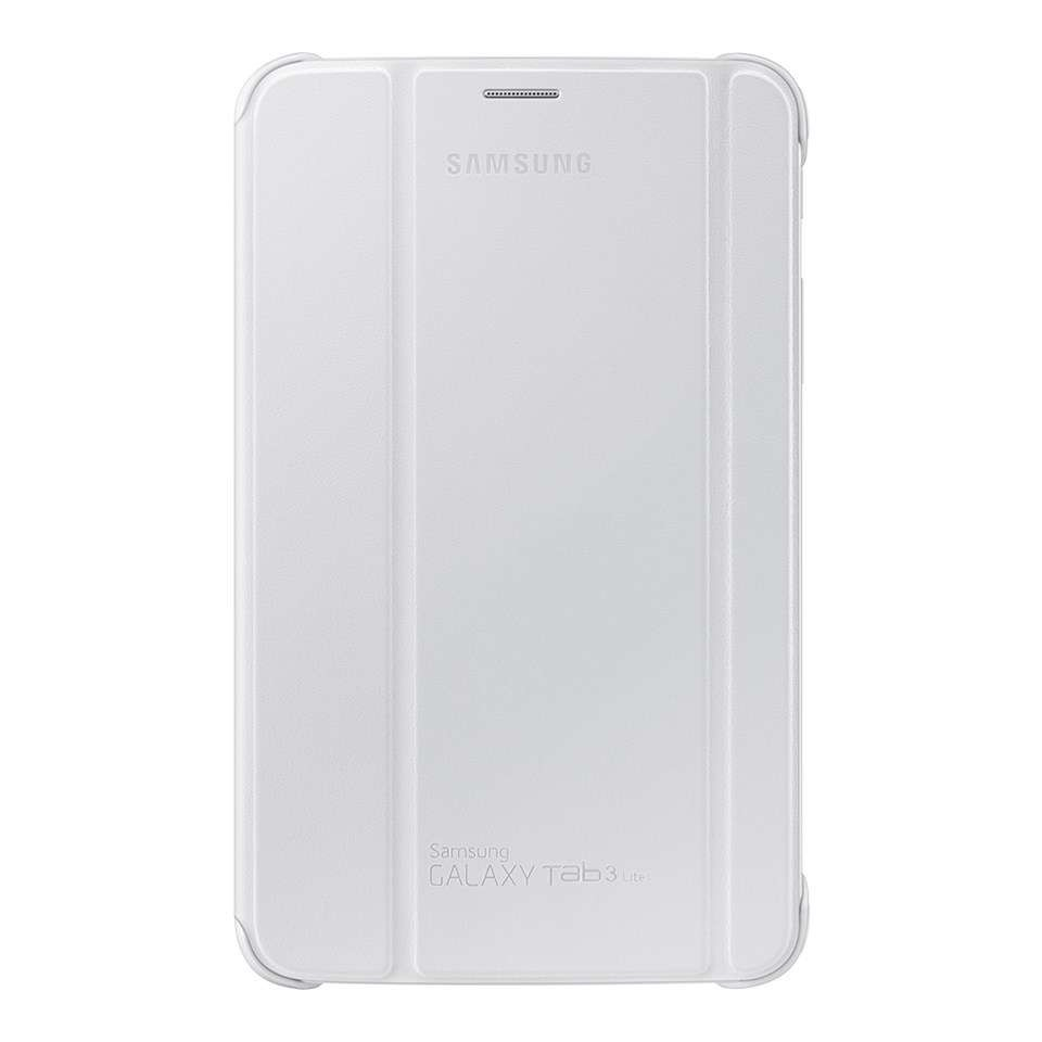 devices samsung galaxy tab 3 7 0 lite book cover white. Black Bedroom Furniture Sets. Home Design Ideas