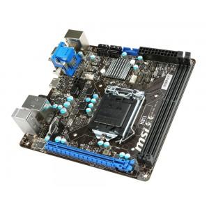 MSI H81I LGA 1150 Intel H81 HDMI SATA 6Gb/s USB 3.0 Mini ITX Intel Motherboard