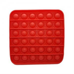 Pop It Bubble Square Fidget Blue / Red Camo