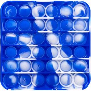 Pop It Bubble Square Fidget Blue/White
