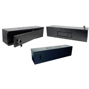 """NetiX 19"""" Wall Mount Cabinet  540X140X2U Single Fan Section"""