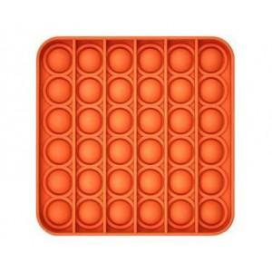 Pop It Bubble Square Fidgt Orange Multi