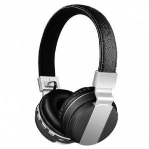 Geeko iPerfect Bluetooth Wireless On Ear Stereo Headphones - Black