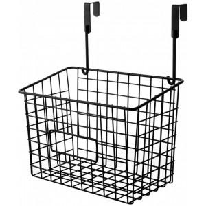 Home Storage Caddy - Black Basket