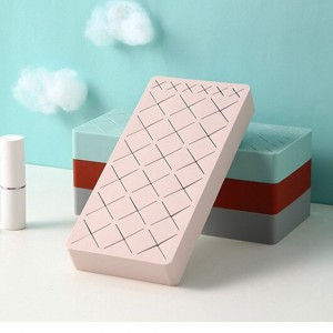 Silicone Cosmetic Organizer - Med- Pink