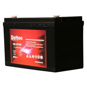 Deltec 12V 100Ah AGM Battery
