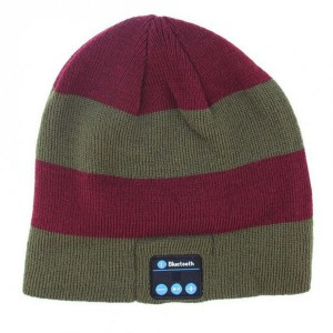Wireless Bluetooth Beanie Headset (Coloured stripes)
