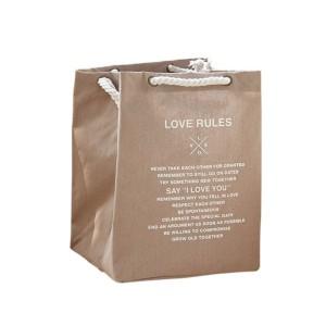 Fine Living - Shopping Bag - Sand - L