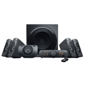 Logitech Z906 5.1 Surround Sound Speaker System - 500W RMS (980-000468)