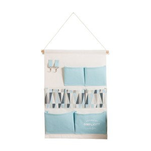 Fine Living Hanging Wall Tidy - Blue