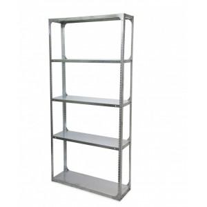 Fine Living - 5 Layer Shelf In Galvanized Steel