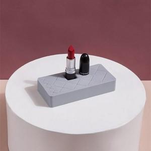 Silicone Cosmetic Organizer -Grey