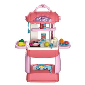 Jeronimo - Jumbo Play Case - Pink Kitchen